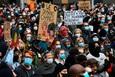 Từ cái chết của một người da đen Mỹ, làn sóng biểu tình bùng lên trên khắp thế giới