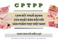 CPTPP: Cam kết thuế quan của Nhật Bản đối với sản phẩm thịt Việt Nam