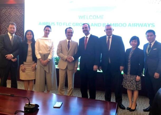 FLC đạt thỏa thuận mua mới 50 chiếc A321NEO cho Bamboo Airways - Ảnh 1.