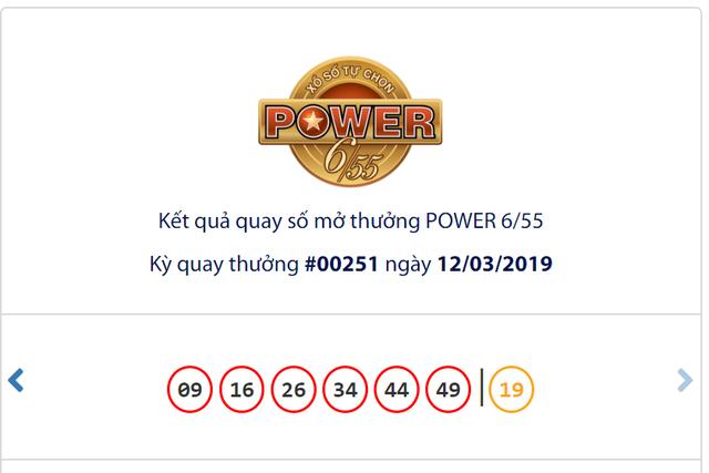 Kết quả Vietlott tuần qua (từ 11-17/3): Thêm hai tỉ phú jackpot 2 cho Power 6/55 - Ảnh 1.