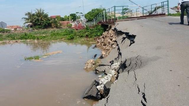 Sắp có cầu vĩnh cửu thay cầu phao sông Hóa nối Hải Phòng với Thái Bình - Ảnh 1.