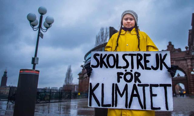 Nữ sáng lập Phong trào thanh niên vì khí hậu được đề cử Nobel hòa bình ở tuổi 16 - Ảnh 1.