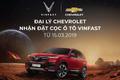 Đại lý Chevrolet chính thức nhận đặt cọc ô tô Vinfast