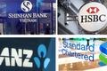 Gam màu kinh doanh của các ngân hàng ngoại tại Việt Nam