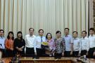Phó Chủ tịch HĐND TP HCM Trương Thị Ánh nhận quyết định nghỉ hưu