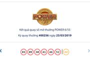 Kết quả Vietlott Power 6/55 ngày 23/3: Vượt mốc 85,4 tỉ đồng, jackpot 1 'mong ngóng' chủ nhân chưa xuất hiện