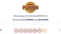 Kết quả Vietlott Power 6/55 ngày 26/5: Giải độc đắc trị giá hơn 39,1 tỉ đồng vẫn chưa chủ