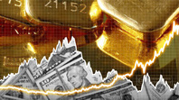 Giá vàng tăng cao khi nhà đầu tư mất niềm tin vào đồng USD