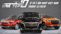 TOP 10 ô tô ế ẩm nhất Việt Nam tháng 12/2020: Xướng tên các mẫu Toyota