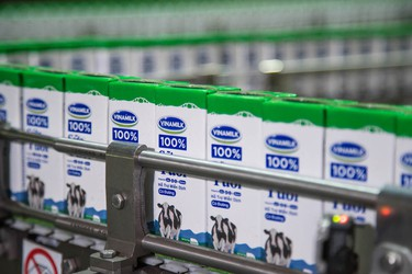 Vinamilk đang chiếm bao nhiêu thị phần ngành sữa?